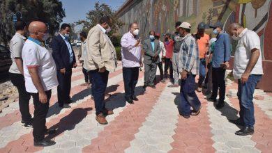 صورة محافظ أسيوط يتفقد أعمال تطوير بعض الشوارع بحي غرب