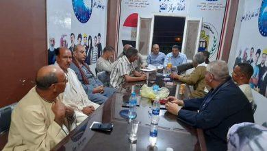 صورة مستقبل وطن أسيوط يجتمع برئيس مركز منفلوط لحل مشاكل المواطنين