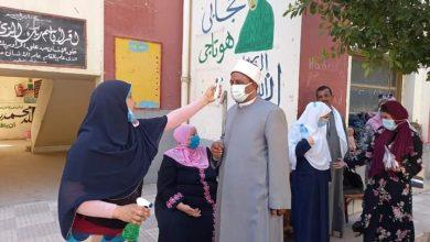 صورة رئيس منطقة أسيوط الازهرية يتفقد لجان ادارة شرق امتحانات الشهادة الثانوي