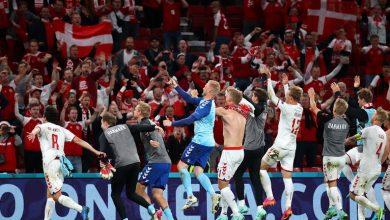 صورة من أجل إيريكسن.. الدنمارك تحقق المفاجأة وتتأهل للأدوار الإقصائية في يورو2020