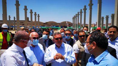 صورة وزير قطاع الأعمال العام يزور شركة غزل المحلة ويتفقد مركز التدريب بعد تطويره