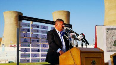 صورة وزير قطاع الأعمال العام يستعرض جهود تطوير نادي غزل المحلة