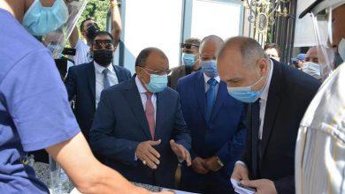 صورة وزير التنمية المحلية ومحافظ القاهرة يتفقدان بدء أعمال امتحانات للثانوية العامة