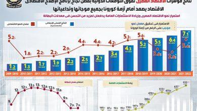 صورة نتائج مؤشرات الاقتصاد المصري تفوق التوقعات الدولية.. جراف
