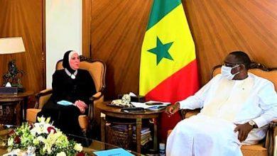 صورة وزيرة التجارة والصناعة تنقل رسالة من الرئيس السيسى لنظيره السنغالى بالعاصمة داكار