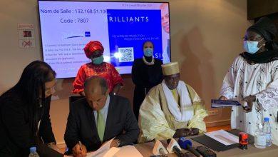صورة وزيرتى التجارة بمصر والسنغال تشهدان توقيع بروتوكول انشاء مجلس الأعمال المشترك