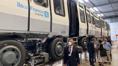 صورة وزير النقل يتفقد مصانع شركة الستوم بمدينة فالنسين