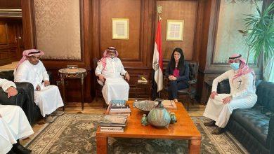 صورة الدكتورة رانيا المشاط وزيرة التعاون الدولي تبحث تعزيز علاقات التعاون الاقتصادي مع الجانب السعودي