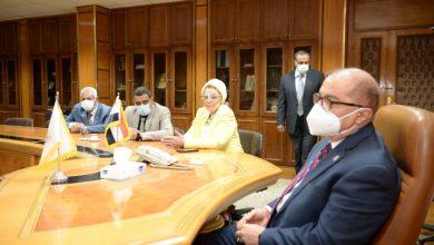 صورة د. مها غانم : مصر ستكون رائدة في مجال زراعة الجوجوبا