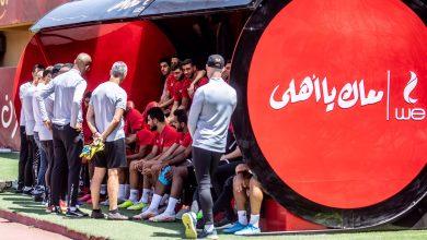 صورة إصابة محمد الشناوي في ختام تدريبات الأهلي