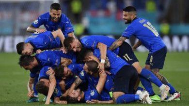 صورة بركلات الحظ .. إيطاليا تتوج باليورو للمرة الثانية بتاريخها على حساب إنجلترا في ويمبلي