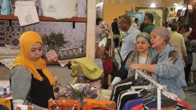 صورة جهاز تنمية المشروعات يفتتح معرض بالزيتون لتوفير مستلزمات عيد الاضحي