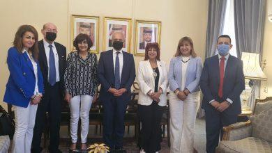 صورة سفير الأردن يلتقي رئيس اتحاد المستثمرات العرب