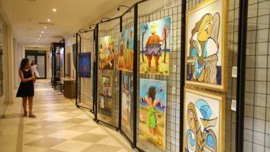 """صورة 30 فنان مصري وعربي يتألقون في افتتاح معرض """"وندر آرت"""" بفندق """"Address Marassi Golf Resort"""""""