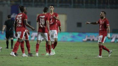 صورة الأهلي يفوز على المقاولون بثنائية نظيفة بالدوري المصري
