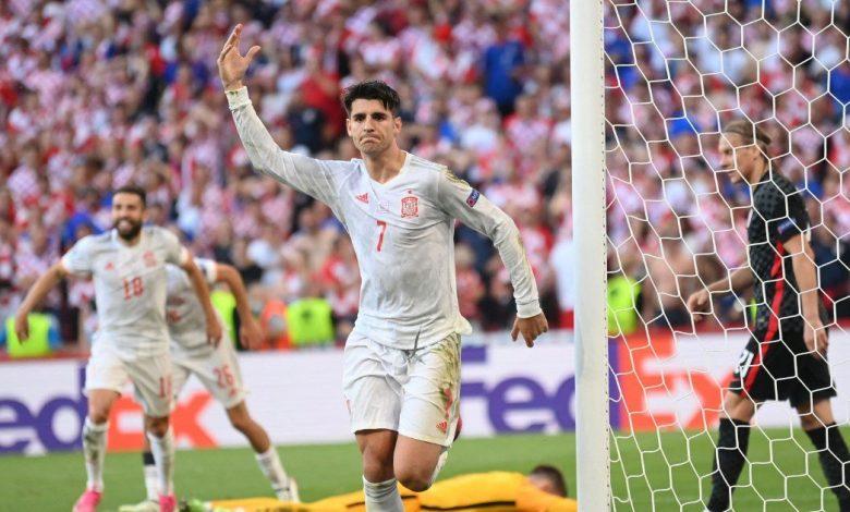 سويسرا وإسبانيا