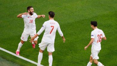 صورة رغم تألق سويسرا.. إسبانيا تحجز مقعدها الذهبي بنصف نهائي يورو 2020