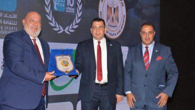 صورة الشبة المصرية تكرم أحمد الجندي و اتحاد الخماسي الحديث