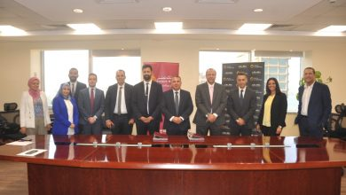 صورة بنك مصر يوقع عقد قرض لشركة عربية للتنمية والتطوير العمراني بقيمة 800 مليون جنيه مصري