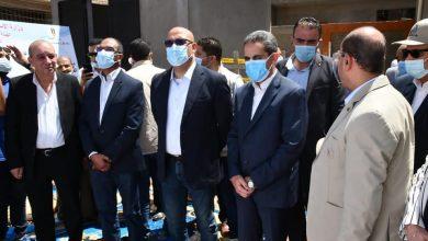 """صورة وزير الإسكان ومحافظ الغربية يتفقدان الموقف التنفيذي لمشروعات المبادرة الرئاسية """"حياة كريمة"""""""