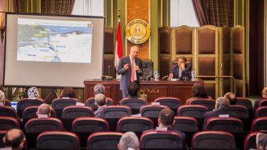 صورة رئيس اقتصادية قناة السويس يلتقي وسفراء البعثات الخارجية الجدد