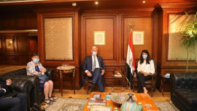 صورة المشاط تبحث مع السفير الهولندي بالقاهرة العلاقات الاقتصادية المشتركة