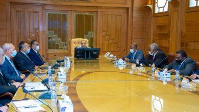"""صورة وزير الدولة للإنتاج الحربى"""" يستقبل وفد """"منظومة الصناعات الدفاعية السودانية"""" لبحث تعزيز سبل التعاون"""