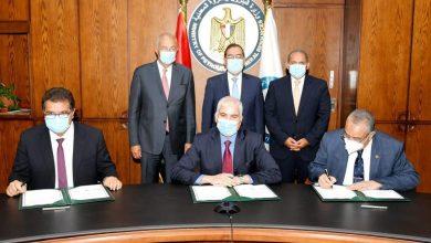 صورة الأهلي كابيتال  توقع اتفاقية المساهمين مع شركة أبو قير للأسمدة والصناعات الكيماوية وشركة حلوان للأسمدة