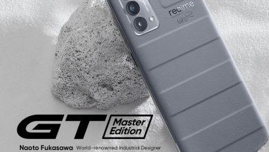 صورة realme تعلن عن الإطلاق الرسمي لسلسلة هواتف realme GT Master Edition