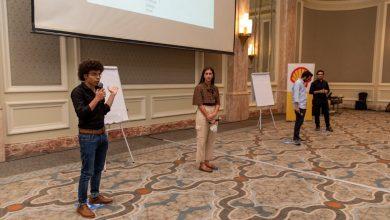 """صورة شل مصر تعلن عن الفريق الفائزفي النسخة المحليةلمسابقة """"تخيل المستقبل"""" العالمية"""