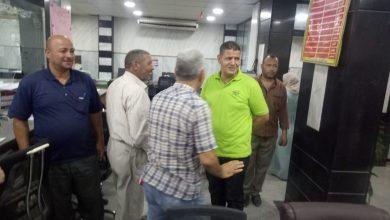 صورة رئيس مركز ومدينة أشمون يتابع أعمال ملف التصالح