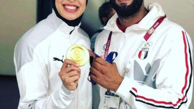 صورة هانى قشطة مدرب البطلة الذهبية فريال أشرف يعمل مدربا عاما لنادى سيتى كلوب شبين الكوم