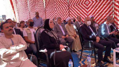 صورة وزيرة التجارة والصناعة تقوم بزيارة ميدانية للمناطق والمجمعات الصناعية بمحافظة قنا