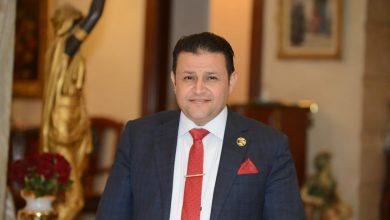 صورة شحاته ابو زيد : لقاء الرئيس السيسي برئيس شركة لورسن العالمية خطوة كبيرة لدعم الصناعات البحرية وتطوير الموانيء المصرية