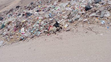 صورة جحدم أسيوط المظلومة رئيس الوحدة المحلية قطع الطريق على المشروعات الخدمية