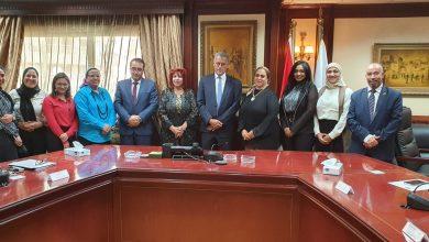 صورة هدي يسي: اجتماع مع جهاز المشروعات الصغيرة و اتحاد المستثمرات العرب لتنفيذ مبادرة مصر بالالوان
