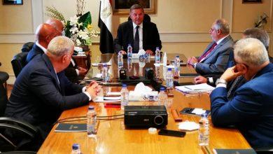 """صورة وزير قطاع الأعمال العام يجتمع بمجلس إدارة شركة """"ECH"""" لتسويق وبيع منتجات شركات القابضة للغزل والنسيج"""