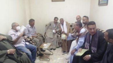 صورة وكيل لجنة الخطة والموازنة يلتقى أهالى أسيوط