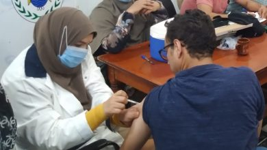 صورة أمانة القوصية تعطي لقاح كورونا لذوي الإحتياجات الخاصة بدير القوصية