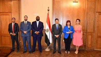 صورة وزير الشباب للمستثمرات العرب:إنشاء مدينة أوليمبية متكاملة بمدينة العلمين الجديدة