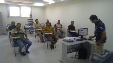 صورة قطاع الأعمال : انطلاق البرنامج التدريبي بمركز تدريب العاملين بغزل المحلة بعد تطويره