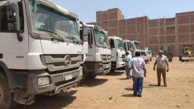 صورة إصطفاف المعدات للمشاركة في العمليه صقر 81