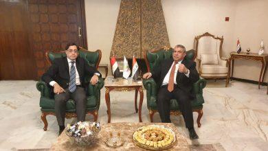صورة السنافي يبحث اليات تعزيز التعاون المشترك مع شركات المقاولات والاسكان المصرية ودخولها الى السوق العراقي