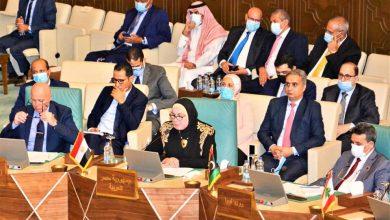 صورة وزيرة التجارة تترأس وفد مصر في الاجتماع الوزارى للمجلس الاقتصادى والاجتماعى بجامعة الدول العربية
