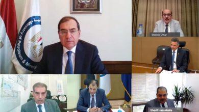 صورة وزير البترول والثروة المعدنية يرأس اجتماع الجمعية العامة لشركة بترول خليج السويس