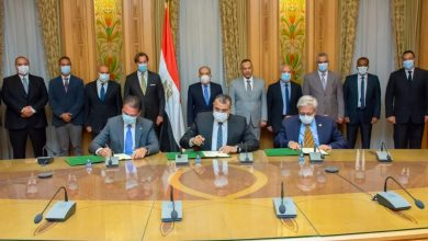 """صورة تعاون بين""""الإنتاج الحربى"""" و """"شركة سيمنز للصناعات بمصر"""" و """"شركة كامس للهندسة والمقاولات """""""