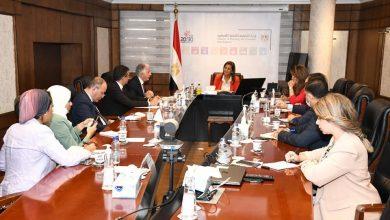 صورة مباحثات مع المؤسسة الدولية الإسلامية حول زيادة التعاون بين مصر والمؤسسة