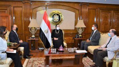 صورة وزيرة التجارة :نرحب بنقل التجربة المصرية الناجحة في مجال تنمية المشروعات الصغيرة ومتناهية الصغر للمملكة الأردنية الشقيقة