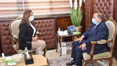 صورة وزير التنمية المحلية يتابع مع محافظ دمياط تنفيذ مشروعات تطوير الريف المصري بشطا