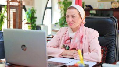 صورة وزيرة البيئة تشارك في قمة تأثير التنمية المستدامة ٢٠٢١